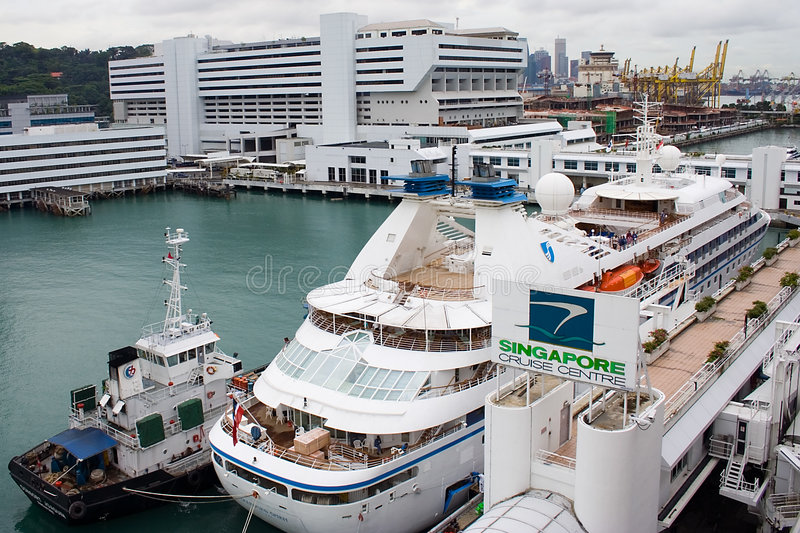Download Singapore Cruise Centre stock photo. Image of harbour, ocean - 414448