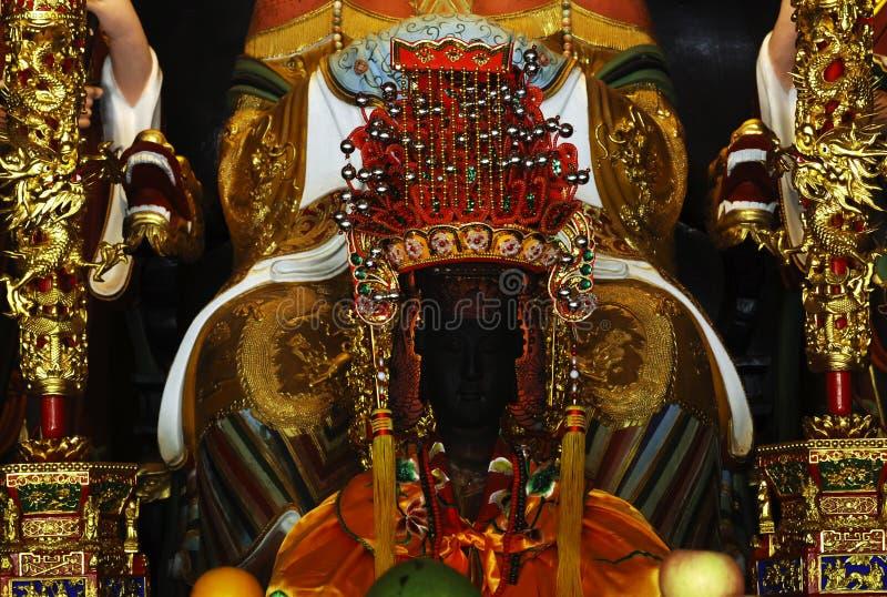 Singapore: De Chinese Rijnwijn Keng van Thian van de tempel stock foto's