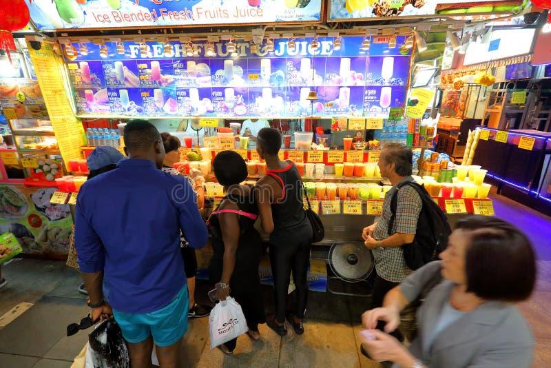 Singapore: De markt van de Bugisstraat stock foto's