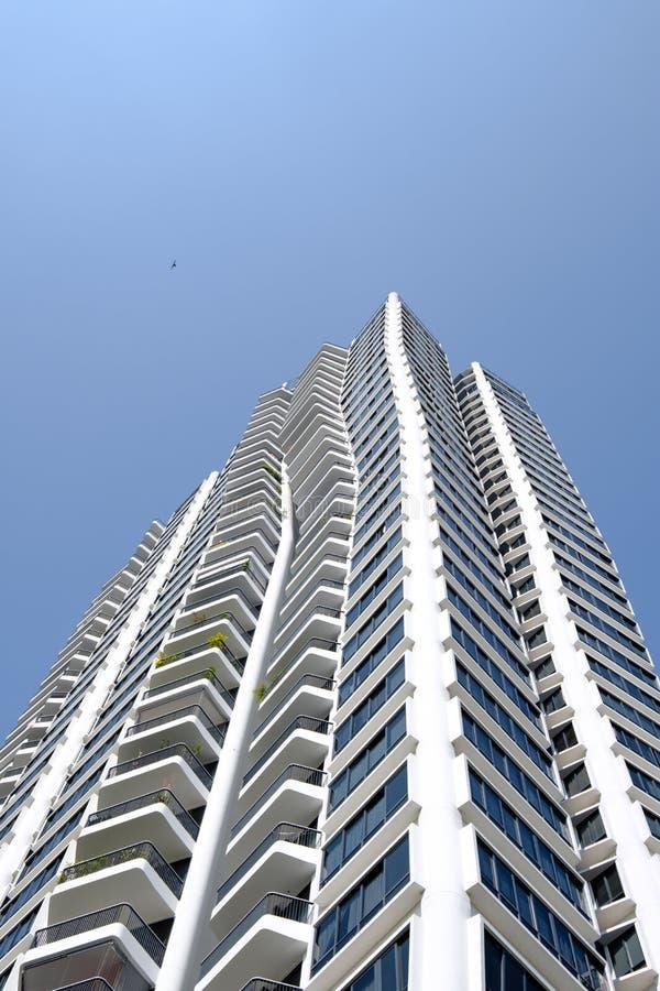 Singapore-28 DEC 2018: D`Leedon condominiums located on Farrer Road in Singapore city stock photo