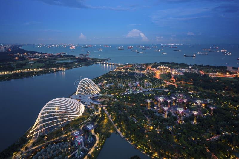 Singapore fjärd fotografering för bildbyråer