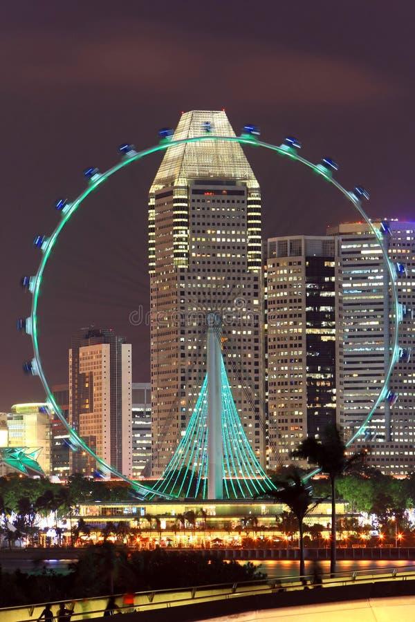 Singapore flyer royalty free stock photo