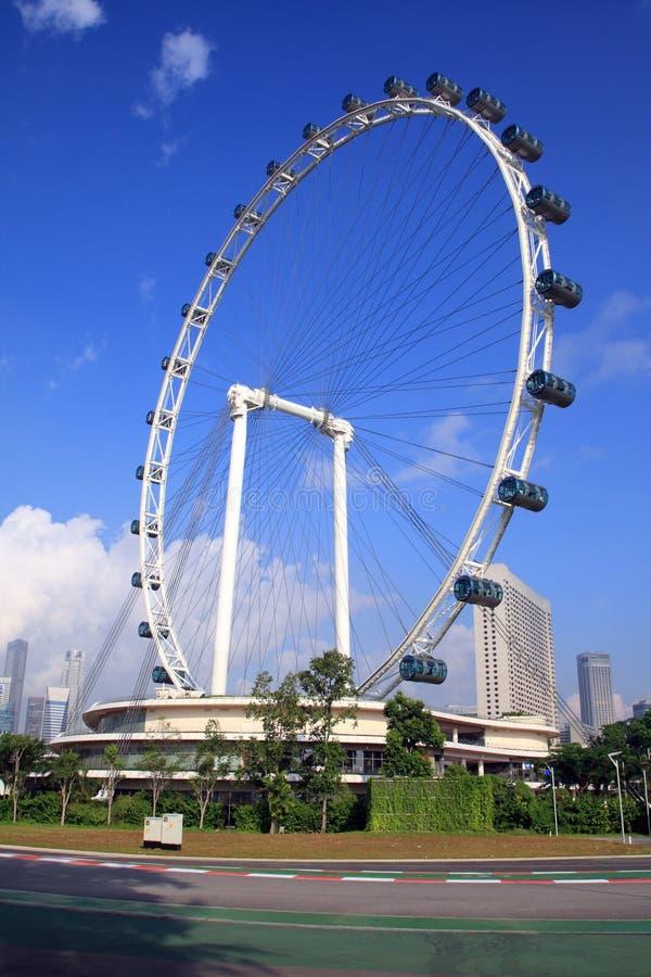 Singapore Flyer royalty free stock image