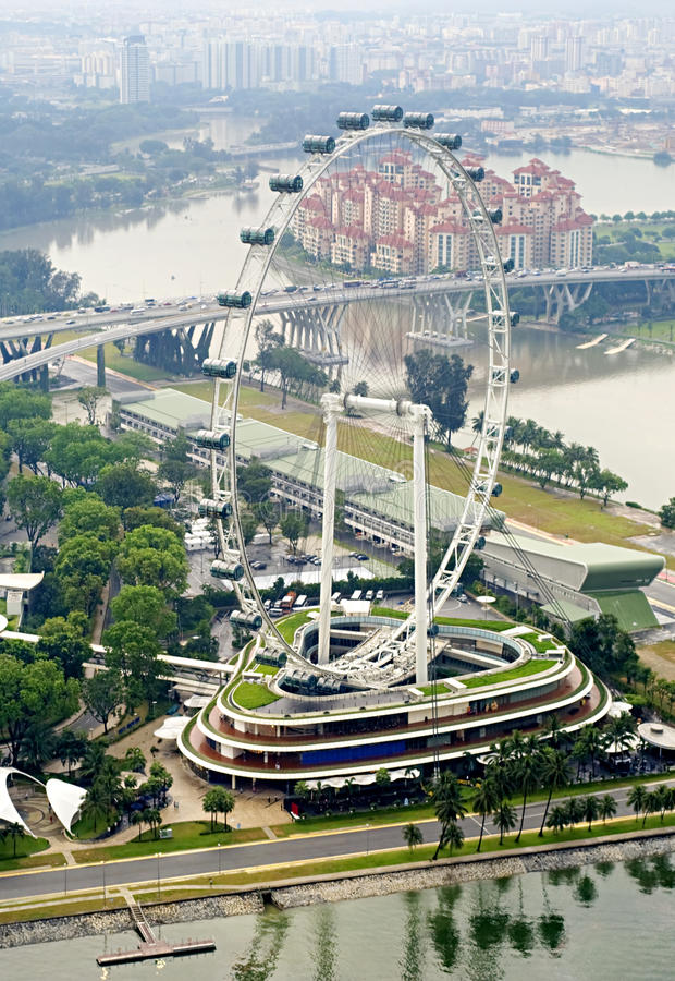 Singapore Flyer royalty free stock photography
