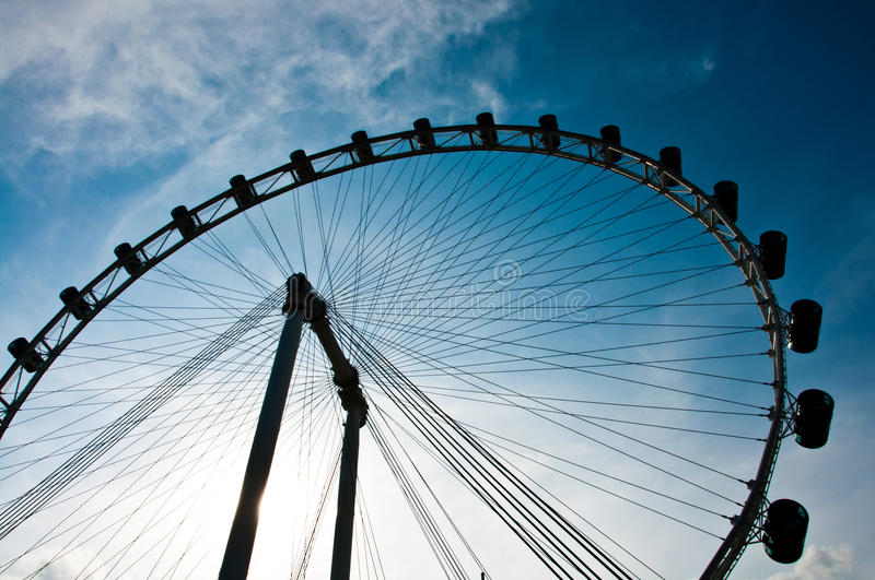 Download Singapore Flyer Royalty Free Stock Photography - Image: 21097537