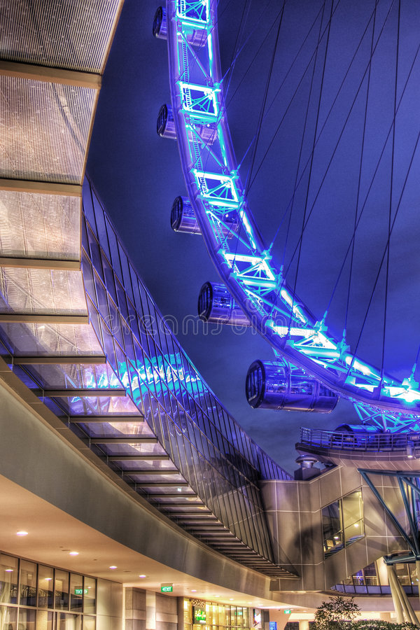 Download Singapore Flyer, From The Retail Terminal Stock Image - Image: 5064411