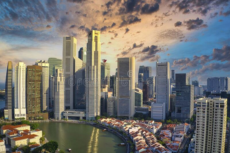 Singapore royaltyfria bilder