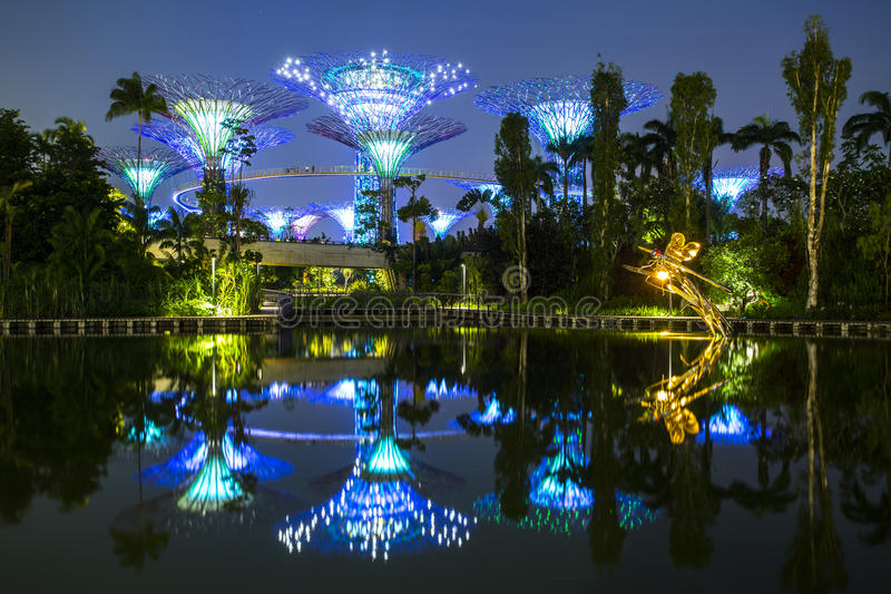 Singapore Garden by the bay royalty free stock photo