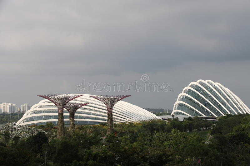 Singapore Gardens By the Bay stock image