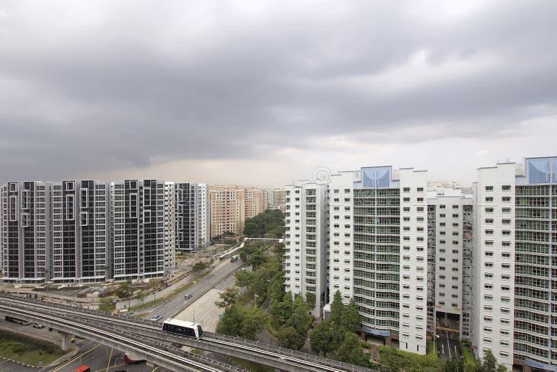 Singapore Geplande Gemeenschap stock foto's