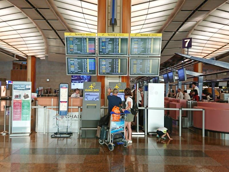 Singapore: Het naar huis gaan royalty-vrije stock foto's