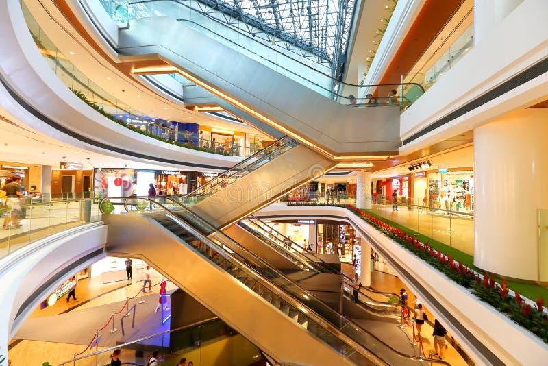 Singapore: Het winkelende centrum van de loterijenstad royalty-vrije stock fotografie