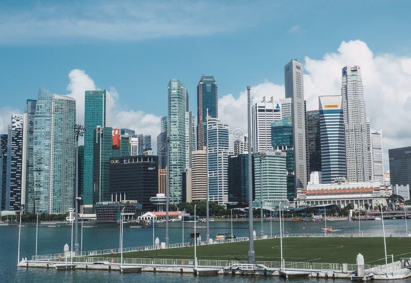 SINGAPORE - JULY 9, 2019 stock image