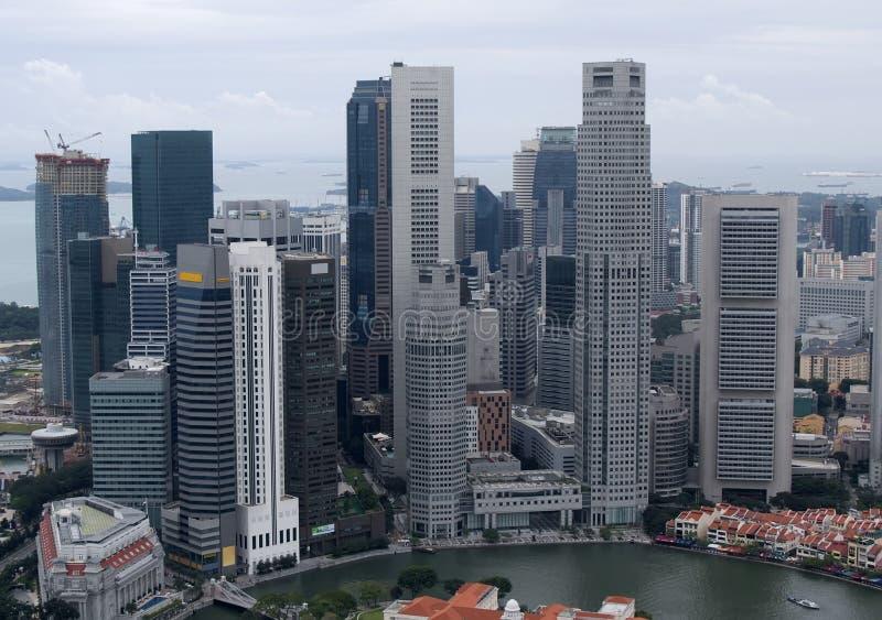 singapore linia horyzontu zdjęcia stock