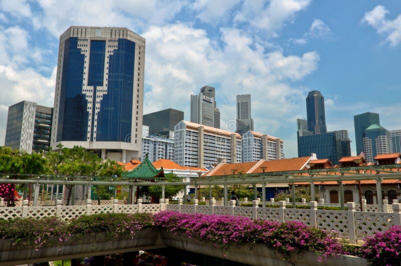 singapore linia horyzontu obrazy royalty free