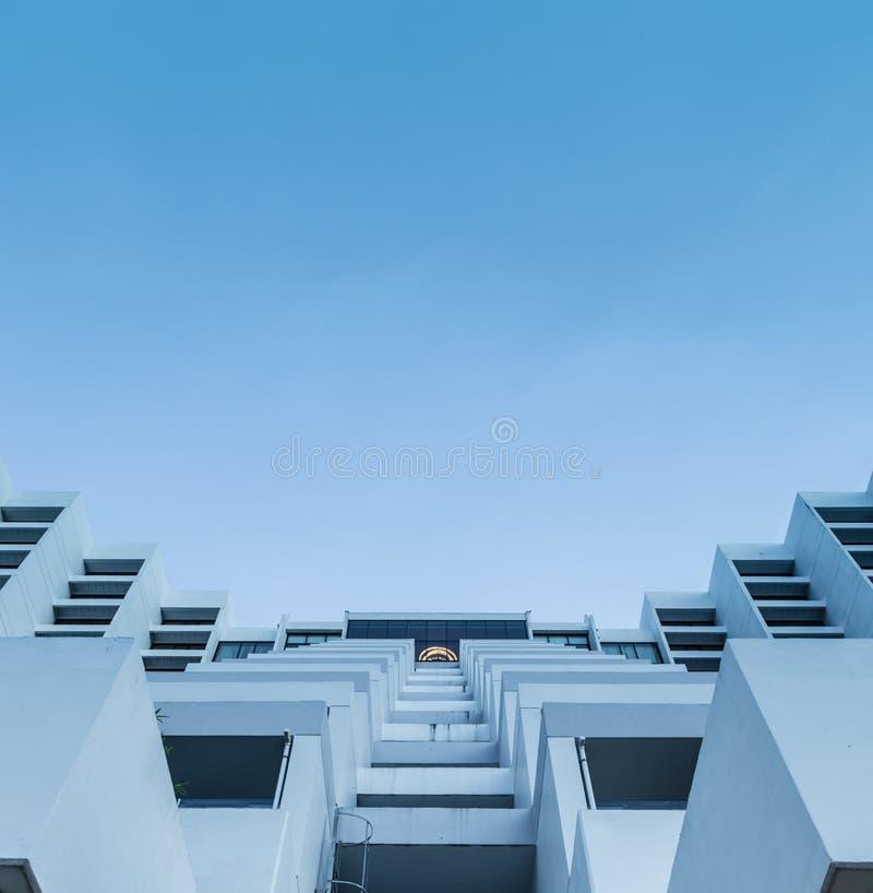 SINGAPORE-MAY 24 2017: Mandarin Oriental budynku hotelowa fasada zdjęcie stock