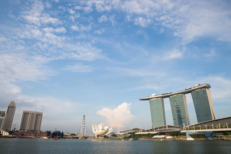 Singapore MBS stock photography