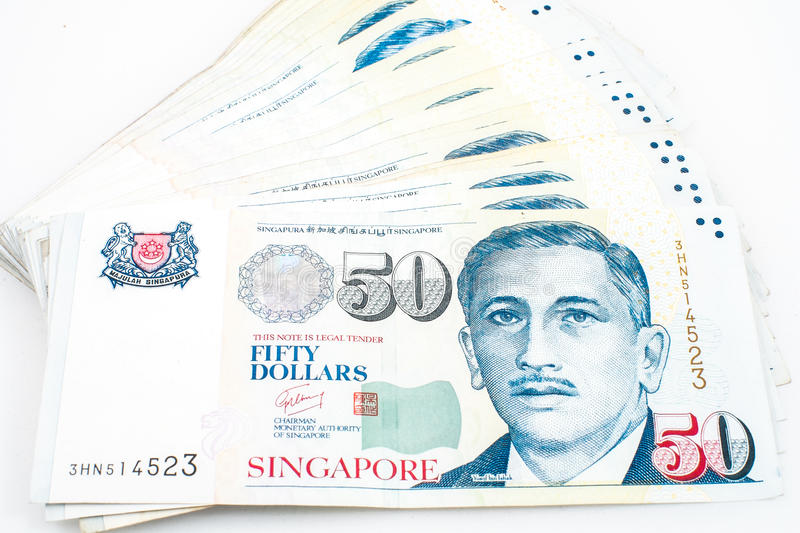 Singapore money royalty free stock photos