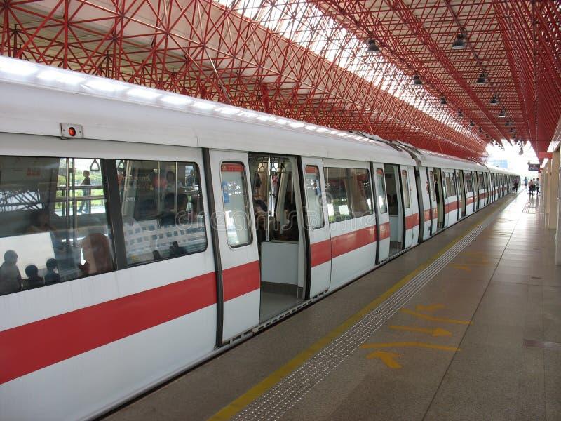 Download Singapore MRT Train stock image. Image of rapid, transit - 1606141