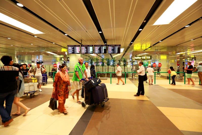 Singapore: Naar huis komst royalty-vrije stock foto's