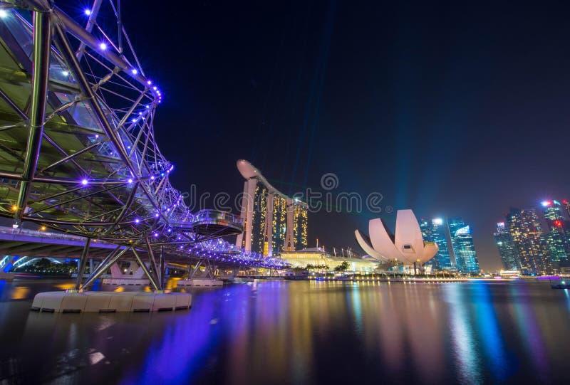 Singapore Night royalty free stock photography