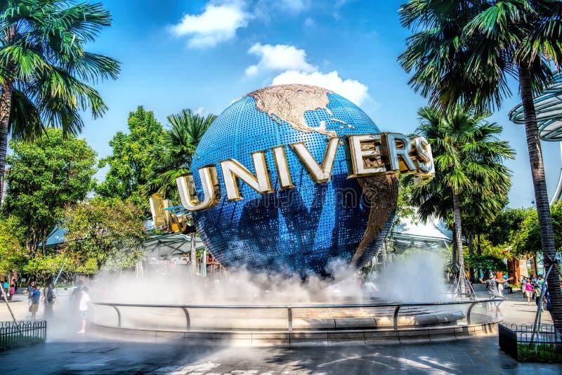 SINGAPORE - OCT, 28 UNIVERSAL STUDIOS SINGAPORE on October 28,2014. It is a park at Resorts World Sentosa, Singapore. stock photography