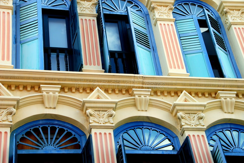 Download Singapore: Pagoda Street Shop House Royalty Free Stock Photography - Image: 8559187