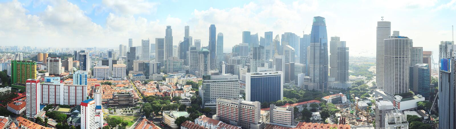 Download Singapore panorama stock image. Image of aerial, birds - 32762183