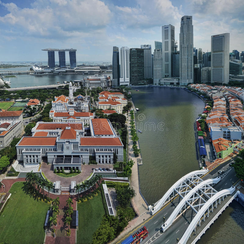 Free Singapore Parliament House Royalty Free Stock Photography - 19487377