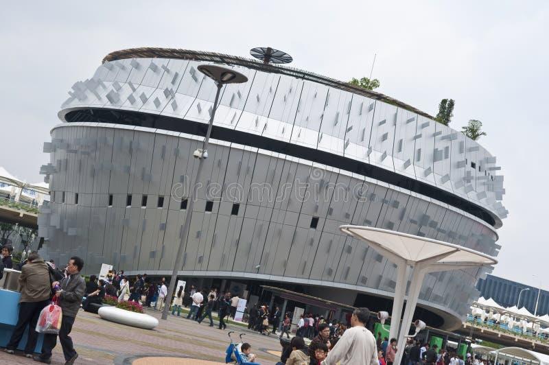 Singapore Pavilion at World Expo stock images