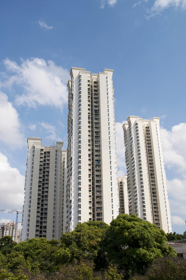 Free Singapore Private Housing Stock Photography - 12172132