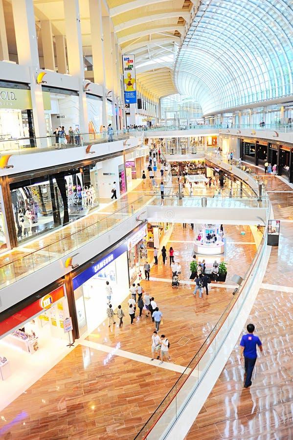 Centro commerciale di Singapore immagini stock libere da diritti