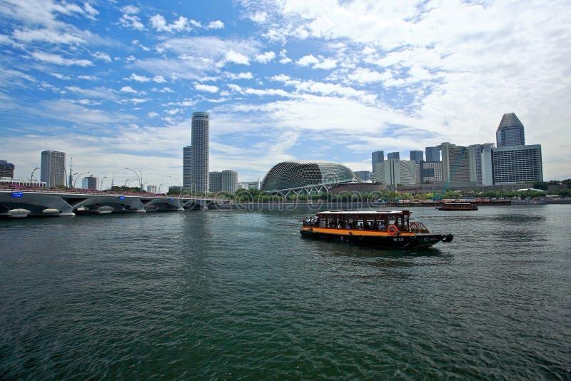 Singapore river royalty free stock photo
