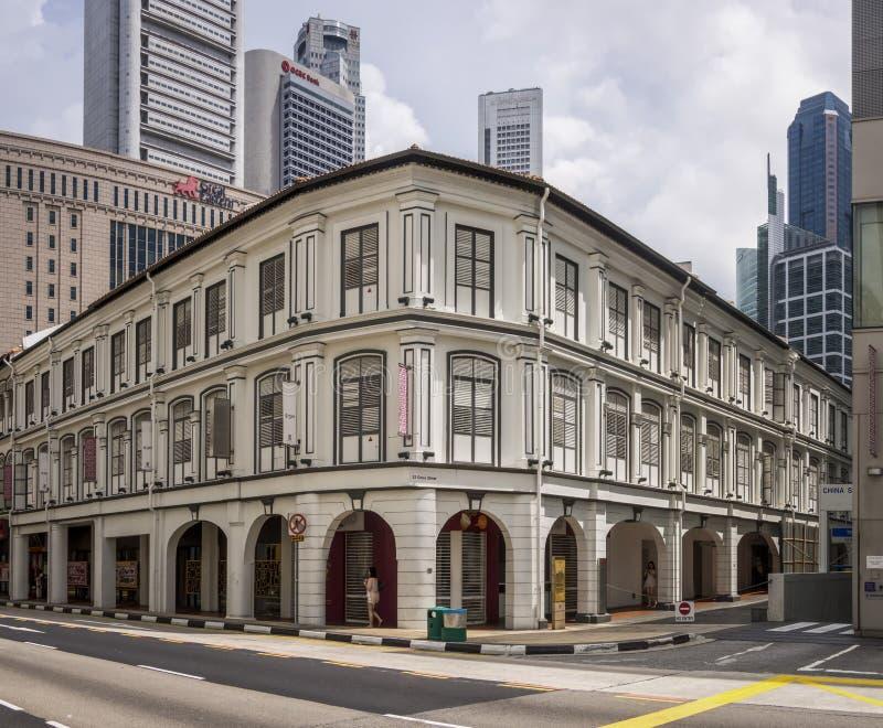 Singapore Singapore-December 12 2015: Intressant asiatisk stil B royaltyfria foton