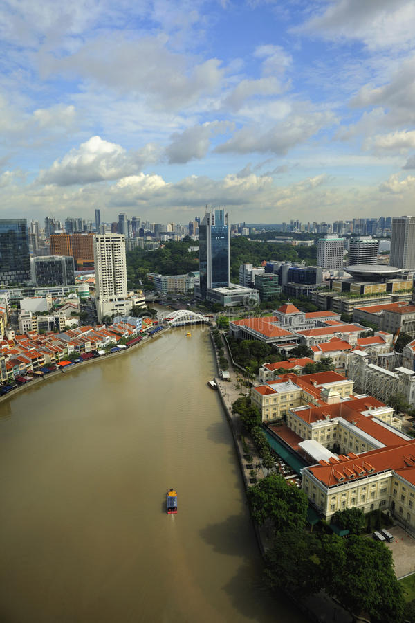 Download Singapore skyline stock image. Image of asia, famous - 19922887