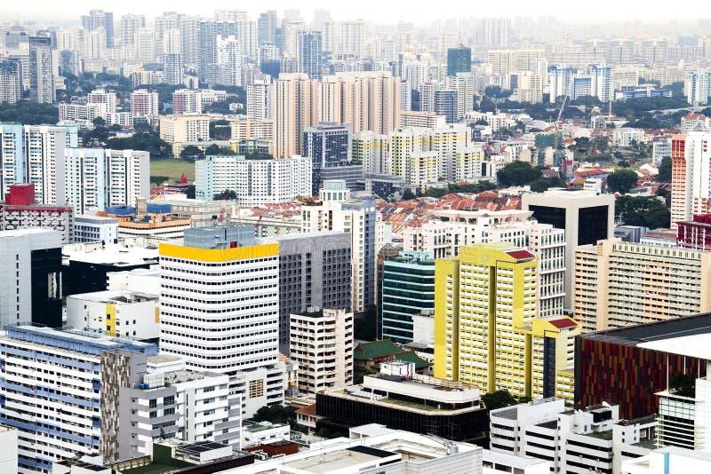 Singapore skyline. royalty free stock photos