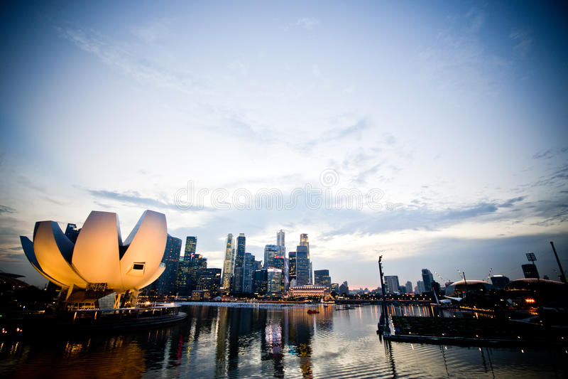 Download Singapore skyline stock photo. Image of architecture - 38709066