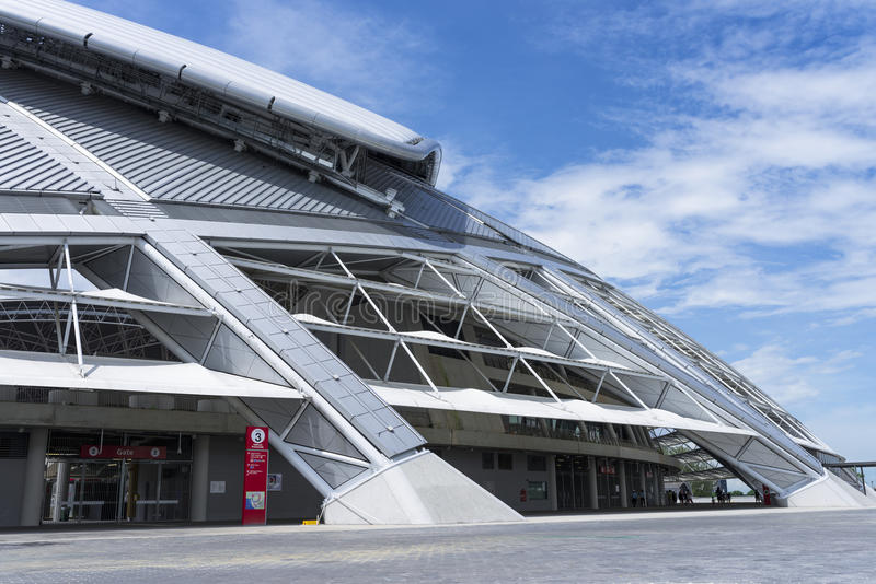 Singapore Stadium stock photography