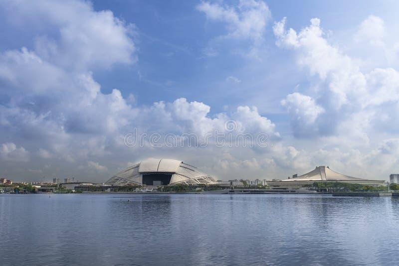 Singapore Stadium stock images