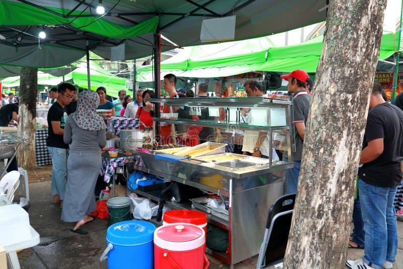 Singapore : Street food stock photo