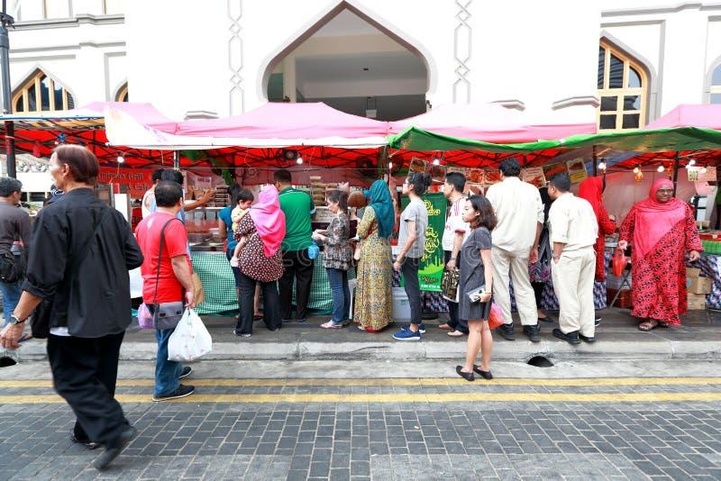 Singapore : Street food stock images