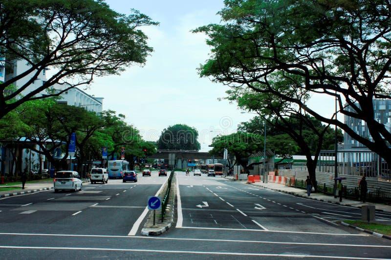 Singapore Street Scene stock images