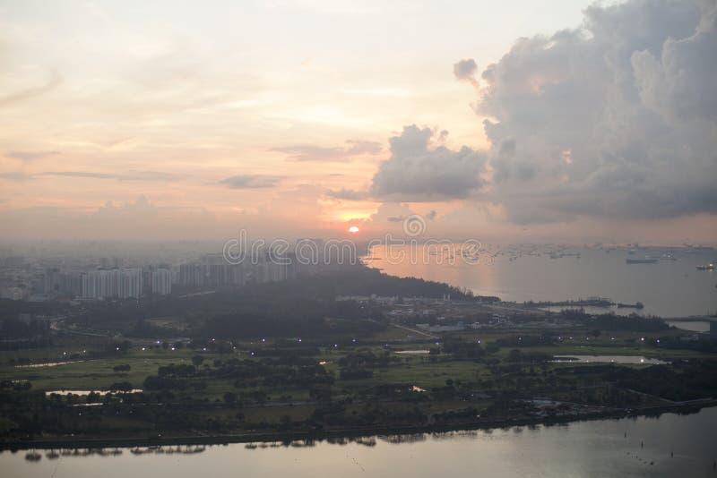 Download Singapore Sunrise Stock Photo - Image: 83720856