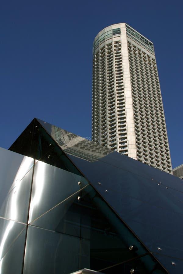 Singapore, Swissotel o hotel de Stamford fotos de stock