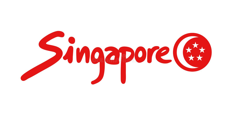 Singapore symbol stock vector  Illustration of line - 109007133