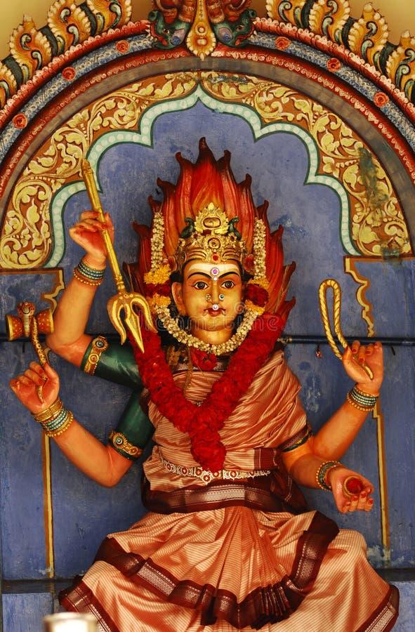 Singapore: Templo de Sri Mariamman fotografia de stock
