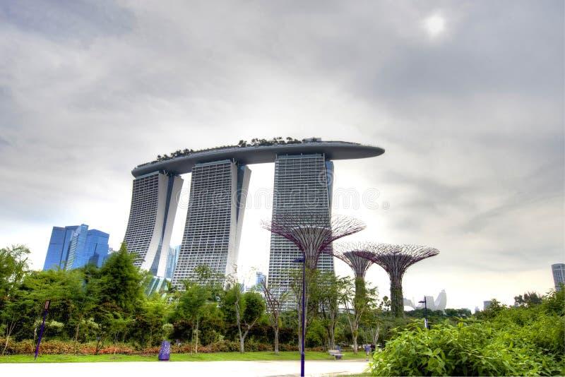 Singapore toneel royalty-vrije stock fotografie