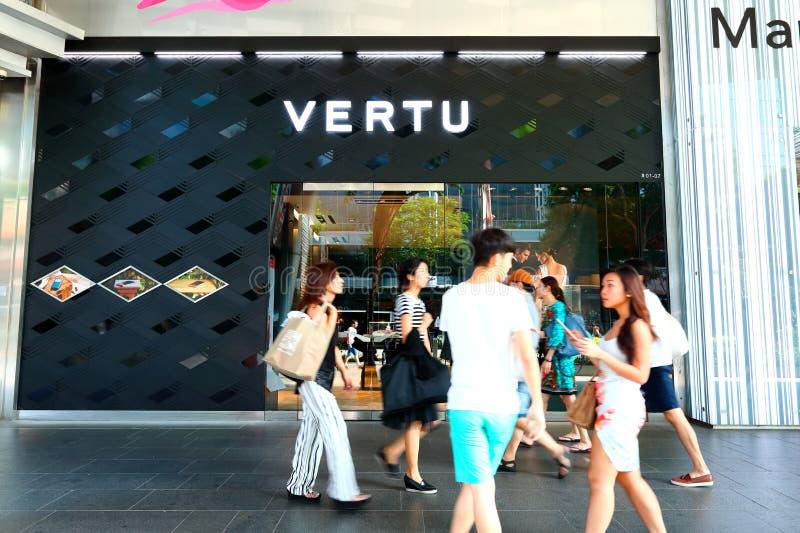 Singapore: Vertudetailhandel stock afbeeldingen