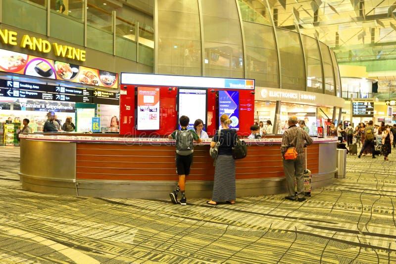 Singapore: Vreemde valutauitwisseling royalty-vrije stock afbeeldingen