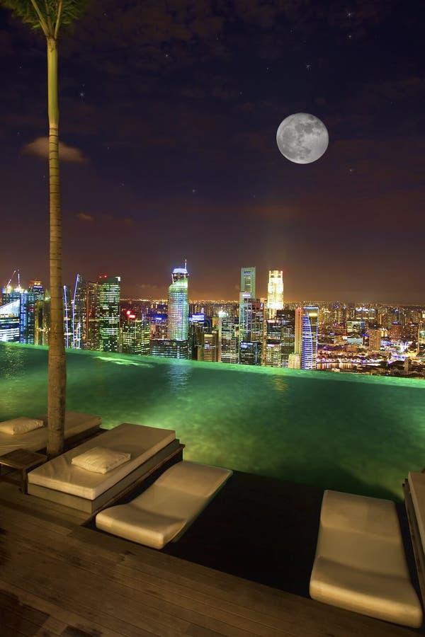 singapore widok zdjęcia royalty free